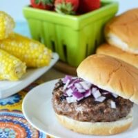 Garlic & Onion Burgers