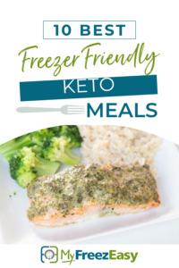 keto friendly freezer meals