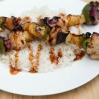 Teriyaki Chicken Kebabs