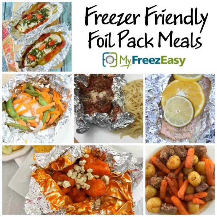 Freezer Friendly Foil Pack Meals