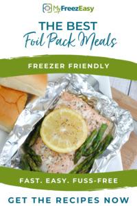freezer friendly foil packs