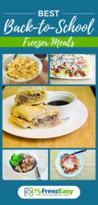 Best Back to School Freezer Meals