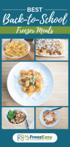 Best Back to School Freezer Meals