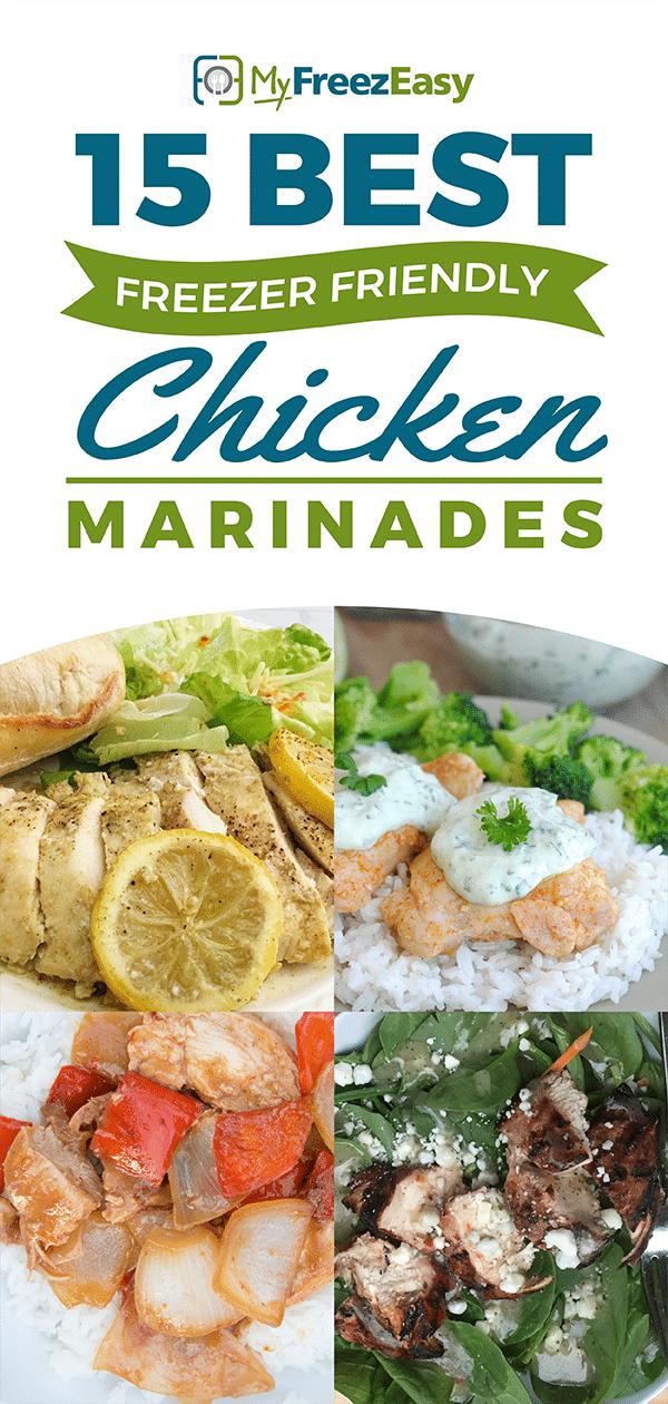 Best Freezer Friendly Chicken Marinades