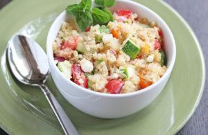 Mediterranean Quinoa Skillet