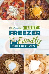 Freezer Friendly Chili Recipes