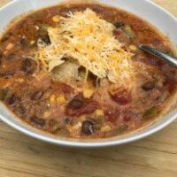 Stovetop Taco Soup - MyFreezEasy