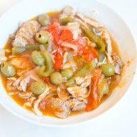 Instant Pot Chicken Ropa Vieja