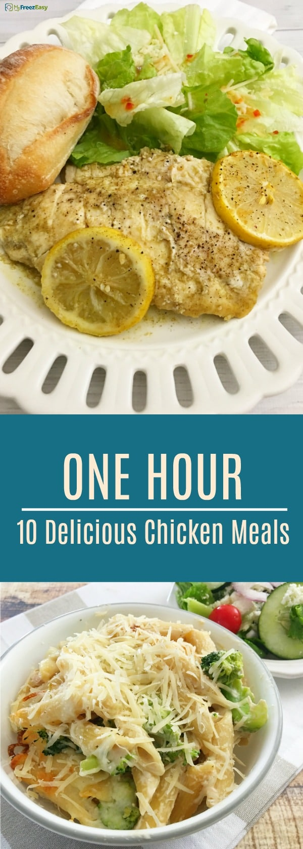 10 Delicious Chicken Meals in One Hour