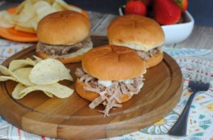 Jerk Pulled Pork Sliders