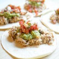 Instant Pot Best Shredded Chicken Tacos