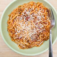 Instant Pot One-Pot Spaghetti