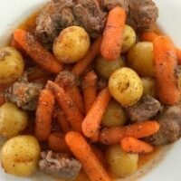 Slow Cooker Simple Baby Beef Stew