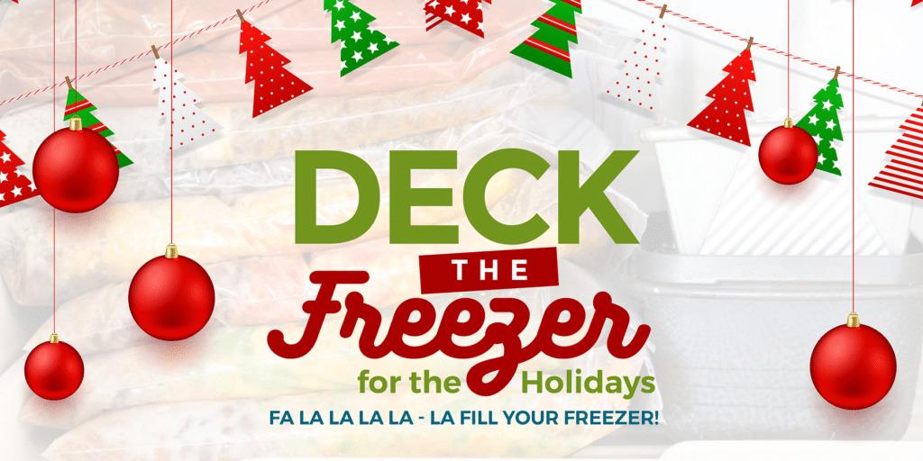 deck the freezer
