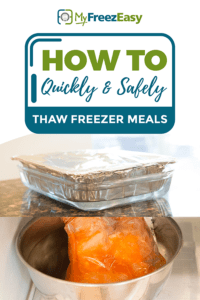 quick thawing freezer meals