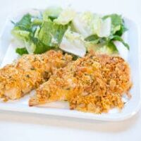 Crispy Cheddar Chicken Bake
