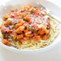 Instant Pot Vegetable Ragu with Pasta