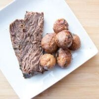 Slow Cooker Red Wine Beef Roast