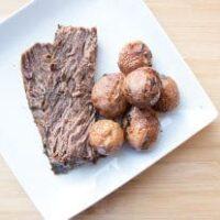 Slow Cooker Red Wine Beef Roast