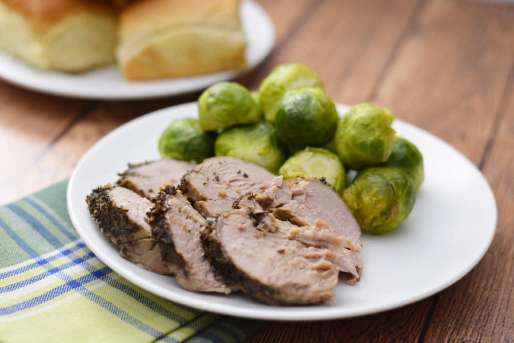 dump dinners instant pot herbed pork tenderloin