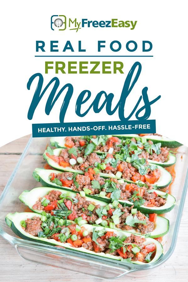 real food freezer meals