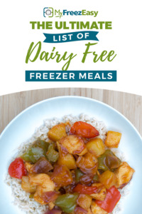 dairy free freezer meal recipes