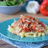Slow Cooker Pulled Pork Ragu