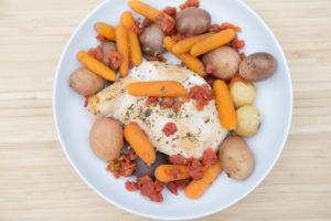 slow cooker italian chicken potatoes