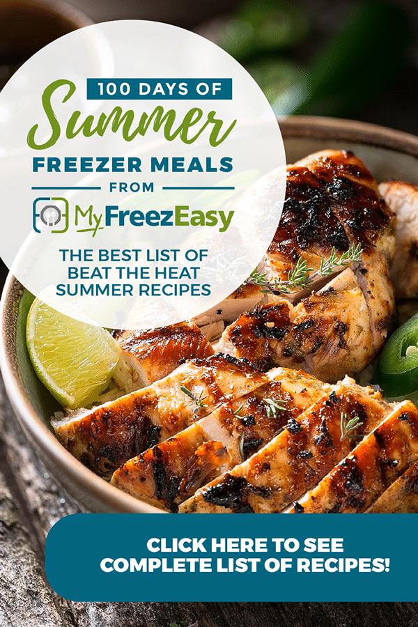 summer freezer meals