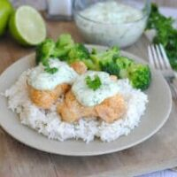 Grilled Chicken Thighs with Chile-Herb Sauce