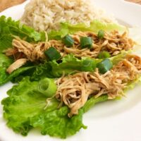 Slow Cooker Hoisin Chicken Wraps
