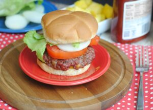 make ahead burger