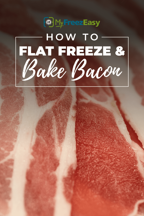 how to flat freeze bacon