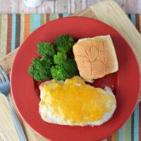 Cheesy Ranch Pork Chops