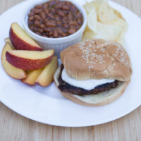 Grilled Ranch Burgers