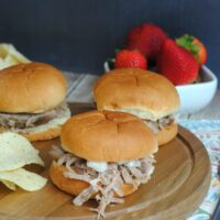 Instant Pot Jerk Pulled Pork Sliders