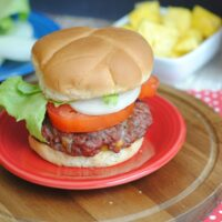 Stuffed Double Cheeseburgers