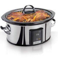 Crock-Pot 6.5-Quart, Programmable Slow Cooker