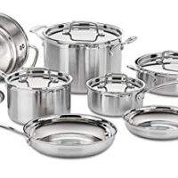 Cuisinart Pro Stainless Steel 12-Piece Cookware Set