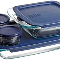 Pyrex Glass Bakeware and Food Storage Set, 8-Piece