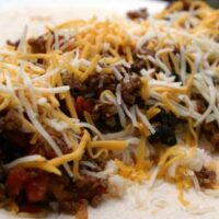 Beef & Refried Bean Burritos