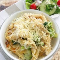 Chicken & Broccoli Alfredo Bake - MyFreezEasy