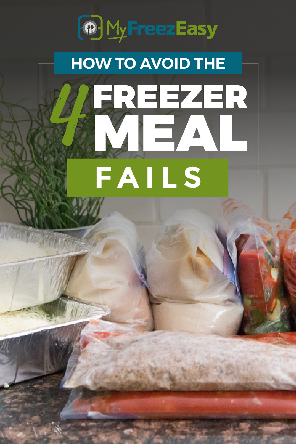 how to avoid freezer meal fails