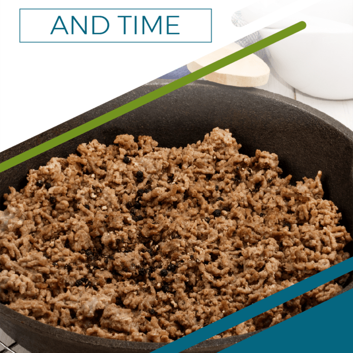 Brown Your Ground Beef Before Freezing to Save Money & Time
