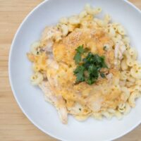 Chicken & Ranch Macaroni - MyFreezEasy