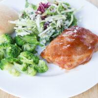 Apple-BBQ Pork Chops