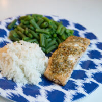 Herbed Butter Salmon