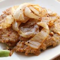 Cashew Parmesan Pork Chops