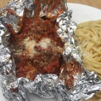 Grilled Meatballs {Foil Packs}