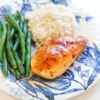Grilled Sweet Chili Salmon & Veggies {Foil Packs}